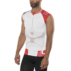Compressport Trail Running V2 - Camiseta sin mangas running Hombre - blanco